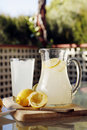Homemade Lemonade Royalty Free Stock Photos