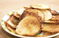 Homemade pancakes Royalty Free Stock Photo
