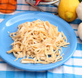 Homemade pasta Royalty Free Stock Photos