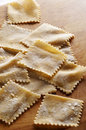 Homemade pasta Stock Image