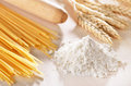 Homemade pasta scene Stock Photography