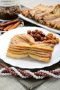 Homemade pastries with cinnamon Royalty Free Stock Image