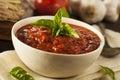 Homemade Red Italian Marinara Sauce Royalty Free Stock Photo