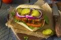 Homemade Savory Meatloaf Sandwich
