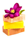 Homemade soap bars Royalty Free Stock Photography