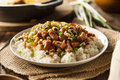 Homemade Southern Hoppin John Royalty Free Stock Photo