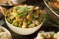 Homemade stuffing for thanksgiving with celery and sage Royalty Free Stock Photography