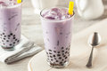 Homemade Taro Milk Bubble Tea ...
