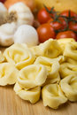 Homemade tortellini pasta Royalty Free Stock Image