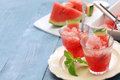 Homemade watermelon ice Royalty Free Stock Photo