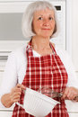 Homemaker senior Obraz Royalty Free