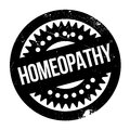 Homeopathy rubber stamp