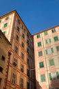 Homes in Camogli Royalty Free Stock Images