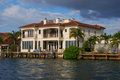 Homes in Fort Lauderdale Royalty Free Stock Photo