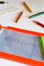 Homeschool concept Royalty Free Stock Photo