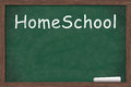 Homeschool with copy-space Royalty Free Stock Photo
