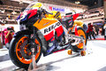 Honda CBR 1000 Moto GP Stock Photography
