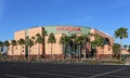 Honda center anaheim california usa – march the located in anaheim the multipurpose arena is home to the anaheim ducks of the Royalty Free Stock Image