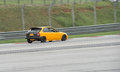 Honda civic ek lapping sepang one of the fastest and lightest car on the track Stock Images