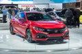 2017 Honda Civic Si Royalty Free Stock Photo