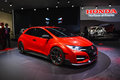 Honda civic type r concept car on display during the geneva motor show geneva switzerland march Stock Photography