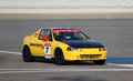 Honda crx racing at the bic cc challenge in bahrain middle east Royalty Free Stock Image