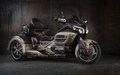 Honda gold wing gl-1800 trike custom motorcycle Royalty Free Stock Photo