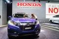 Honda HR-V, Motor Show Geneve 2015 Royalty Free Stock Photo