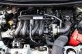 Honda Jazz Fit 2014 Engine Royalty Free Stock Photo
