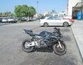 Honda Motorcycle Royalty Free Stock Photo