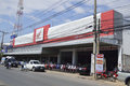 Honda Motorcycle Shop in thailand. Royalty Free Stock Photo