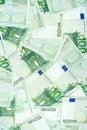 Honderd Euro Bankbiljetten Stock Fotografie