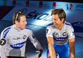 Hondo Danilo Bartko Robert at Sixday-Nights Stock Photo