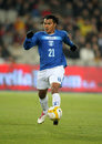 Honduran player Mario Roberto Martinez Royalty Free Stock Photos