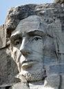 Honest Abe on Rushmore Royalty Free Stock Photo