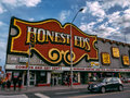 Honest ed s bloor toronto a landmark discount store in canada Royalty Free Stock Images