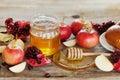 Honey, Apple, Pomegranate And ...