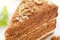 Honey Cake Royalty Free Stock Photos