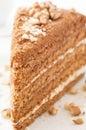 Honey Cake Royalty Free Stock Photography