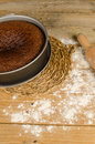 Honey cake homemade traditional for rosh hashanah Royalty Free Stock Photo