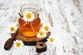 Honey and chamomile