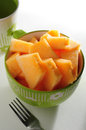 Honey dew melon Royalty Free Stock Photo