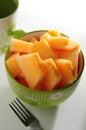 Honey dew melon Royalty Free Stock Photo
