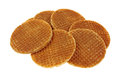Honey Filled Wafers Stock Photography