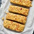 Honey granola bar Royalty Free Stock Photo
