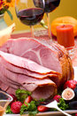 Honey ham Stock Photography