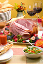 Honey ham Stock Images