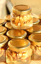 Honey jar 6 Royalty Free Stock Photo