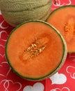 Honey melone Royalty Free Stock Photo