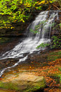 Honey Run Waterfall Royalty Free Stock Photo